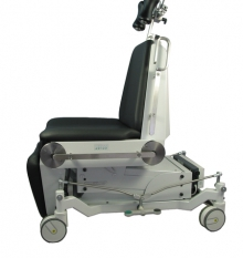 Mammography examination chairs